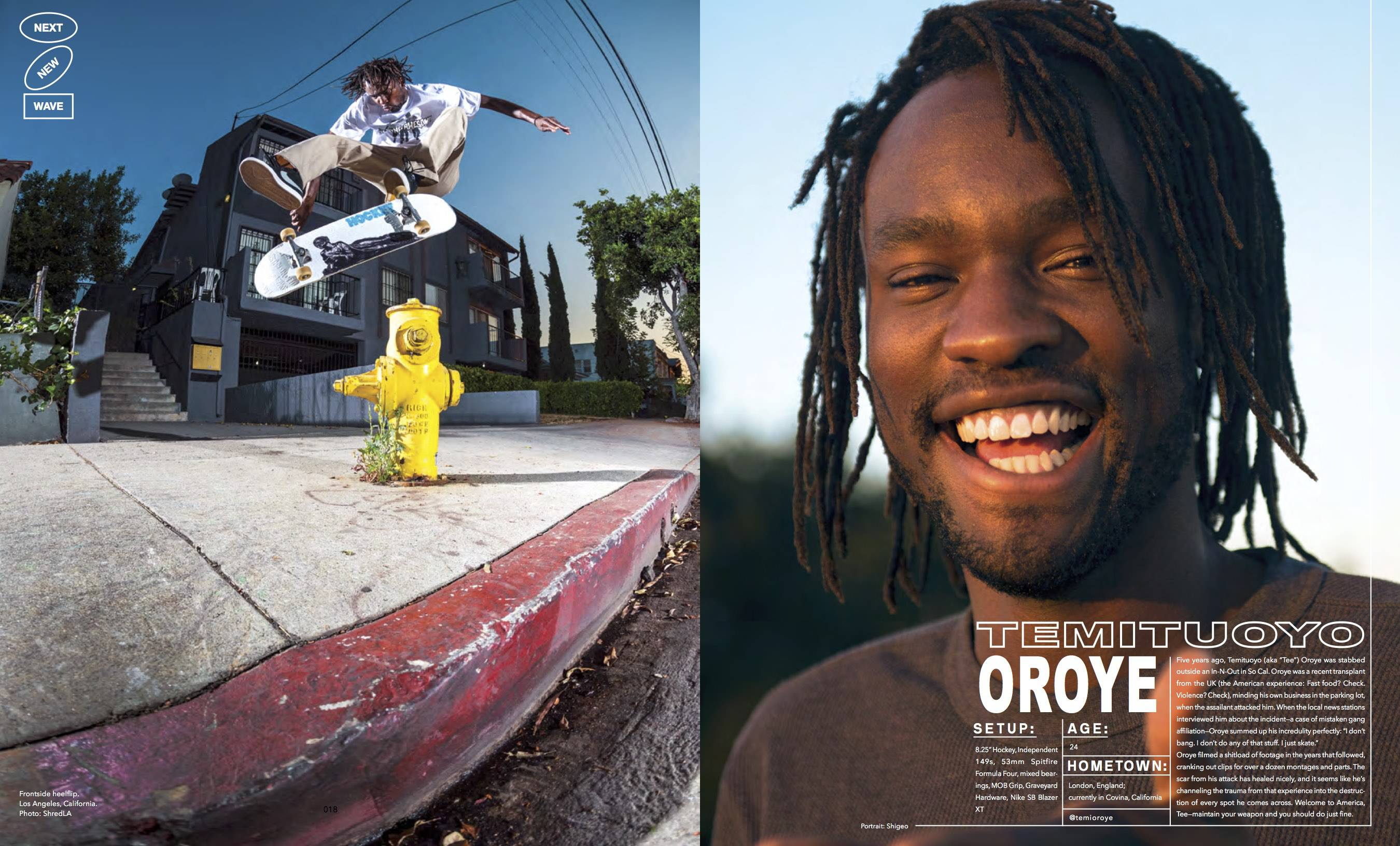 TEMITUOYO OROYE -- Next New Wave - Berrics Magazine #2
