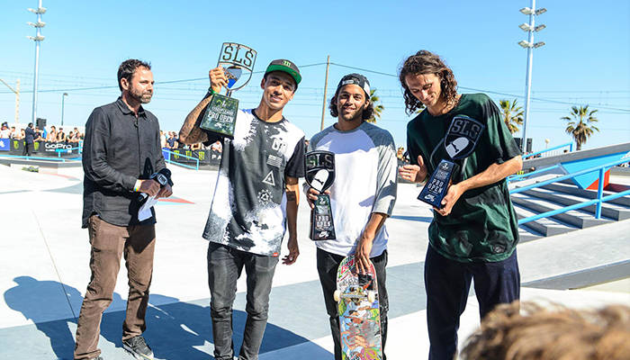 NYJAH HUSTON WINS STREET LEAGUE PRO OPEN IN BARCELONA