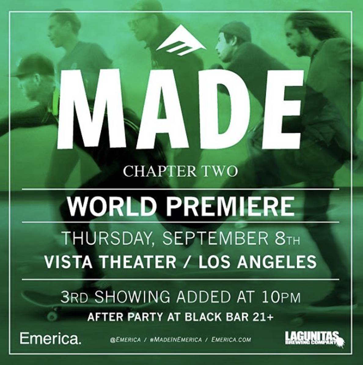 Emerica Made Chapter 2 -- Premieres Tonight!