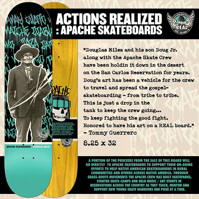 ACTIONS REALIZED -- Apache Skate Crew
