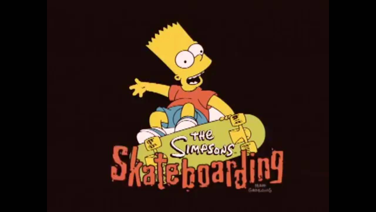 Who Remembers? -- Simpsons Skateboarding