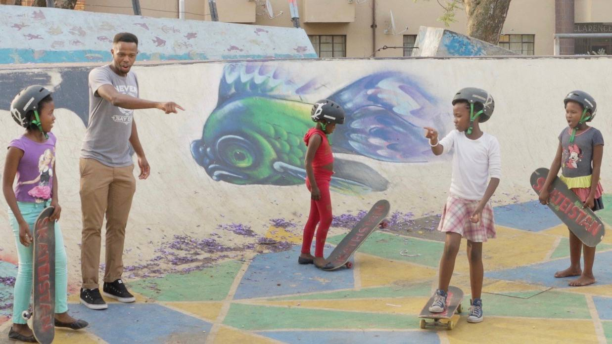 Empowerment Through Skateboarding -- Skateistan South Africa