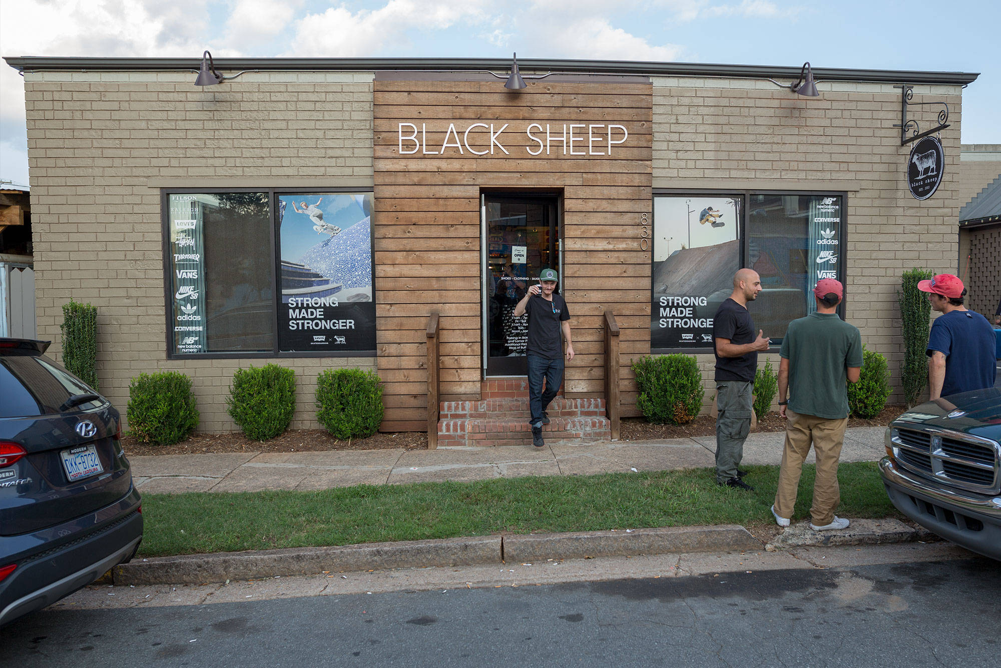 LEVI'S 'PULL UP ON THE SPOT' TOUR STOP 3: BLACK SHEEP