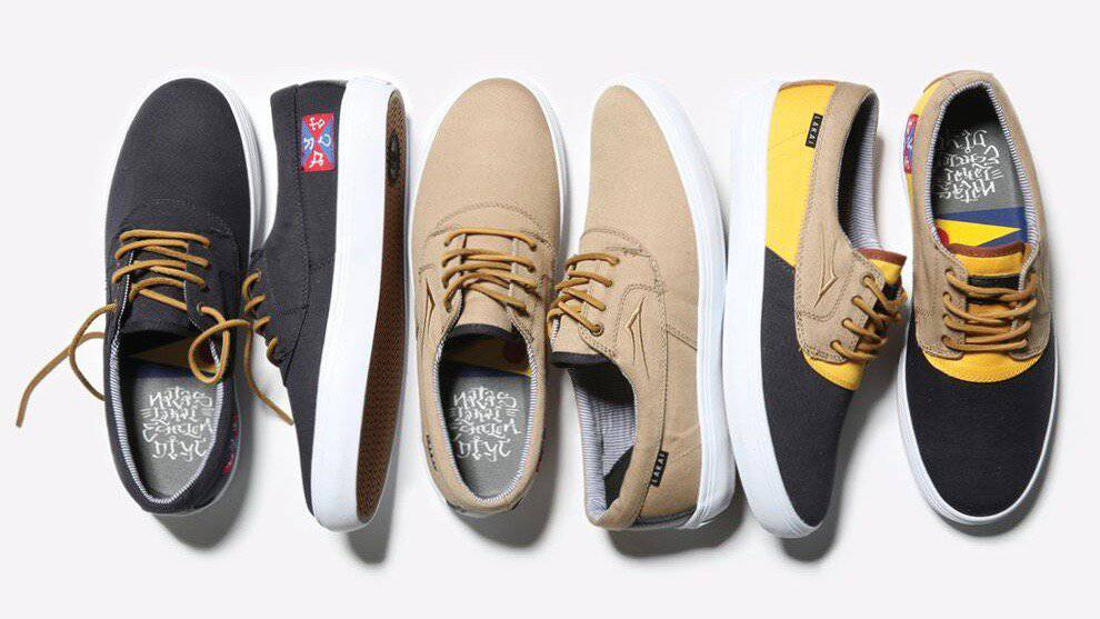 Natas Kaupas Collection -- Lakai Limited Footwear