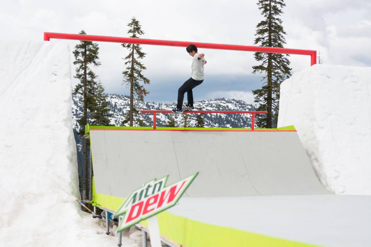 When Skate Meets Snow -- SuperSnake | Mountain Dew