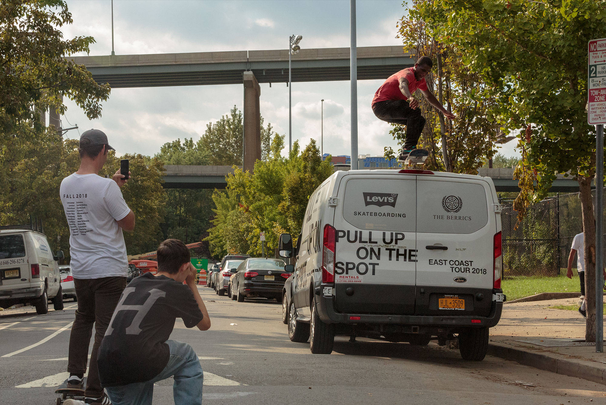 LEVI'S PULL UP ON THE SPOT TOUR STOP 1: NJ SKATESHOP