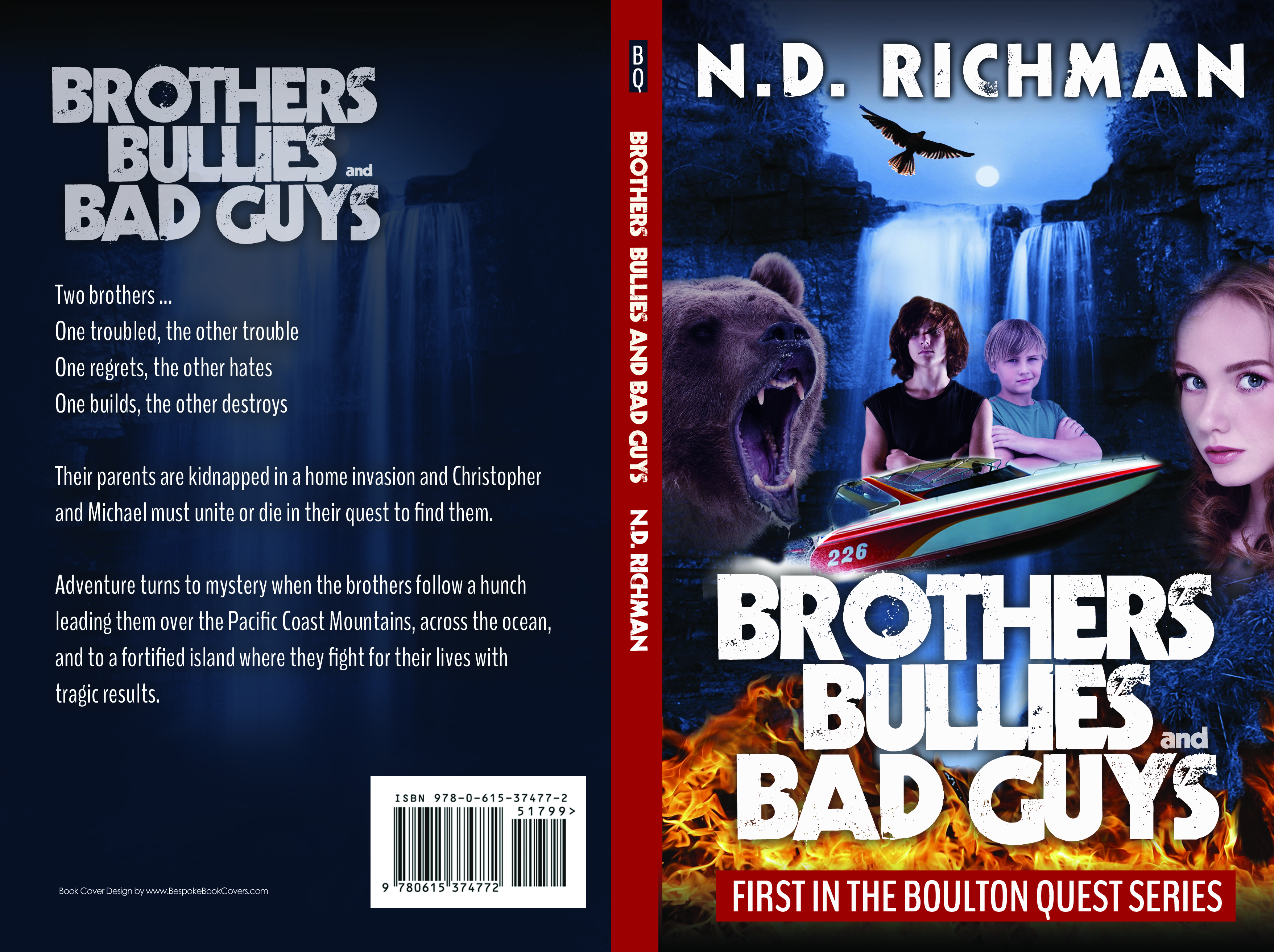 brothers, bullies and bad guys book cover