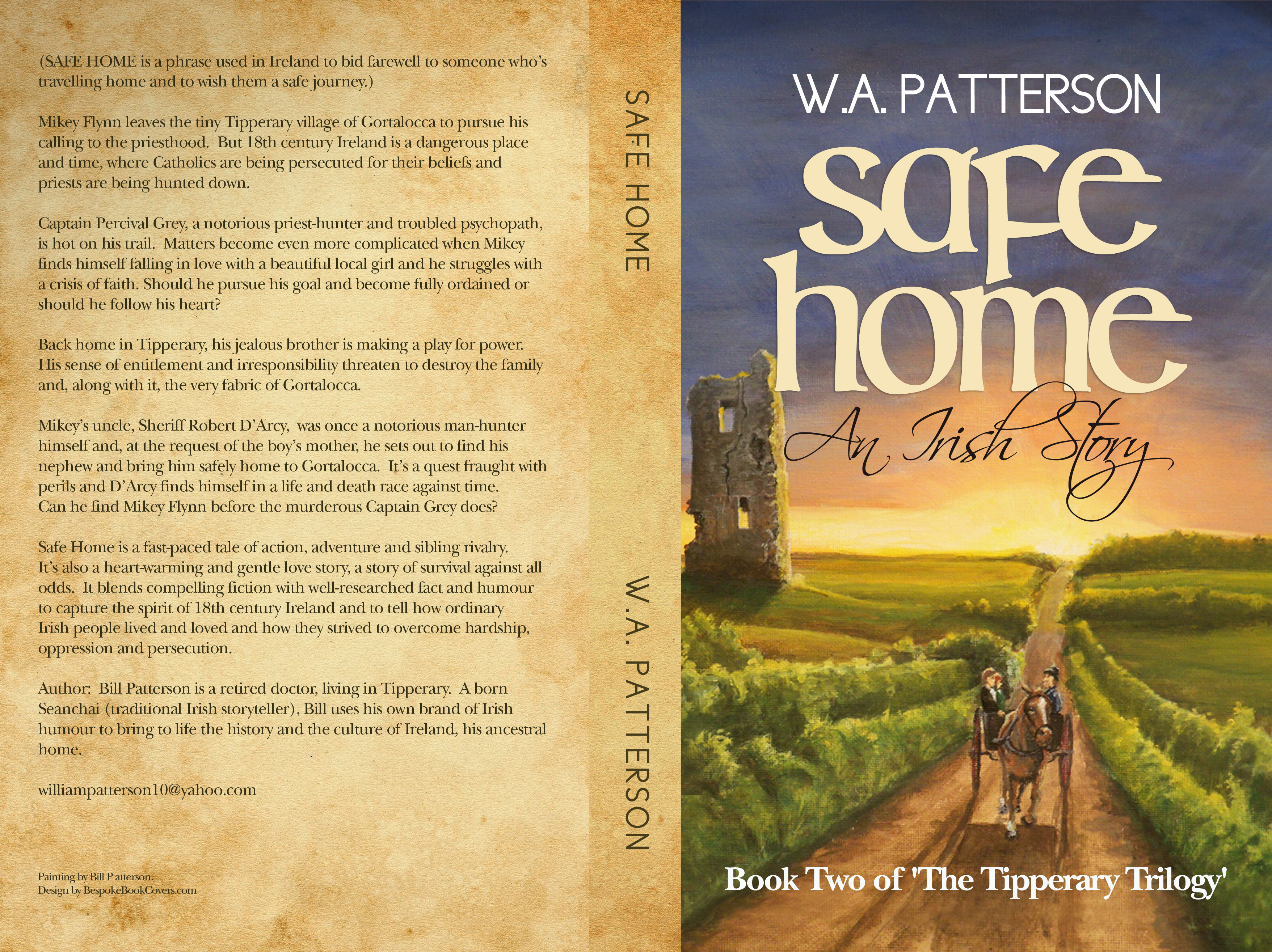 Safe Home book cover