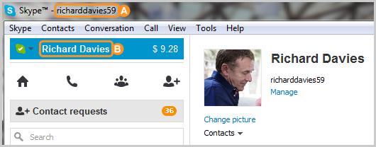 skype名とSkype表示名