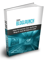 30DayBlogLaunchBp p 30 Day Blog Launch Blueprint