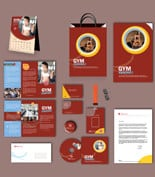 GymPrintTemplate p Gym Print Design Template