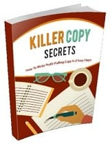 KillerCopySecrets mrr Killer Copy Secrets
