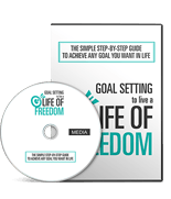 GoalSettingLifeFreedomGLD mrr Goal Setting To Live A Life Of Freedom Gold