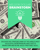 MillionDollarBrainstorm p Million Dollar Brainstorm