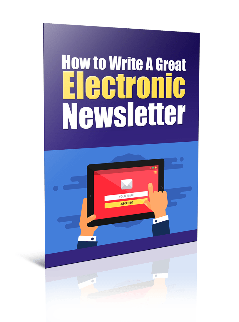 GreatElectronicNewsletter plr Write A Great Electronic Newsletter