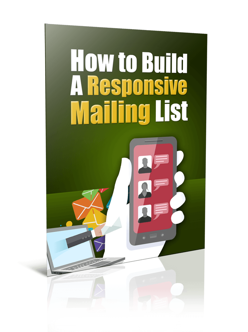 BuildResponsiveMailList plr Build A Responsive Mailing List