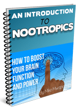 IntroductionToNootropics mrr An Introduction To Nootropics