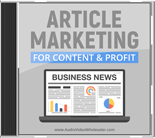ArtclMrktngCntntPrft mrr Article Marketing for Content & Profit