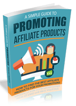 SimpGuidePromoAffiProd rr Simple Guide To Promoting Affiliate Products