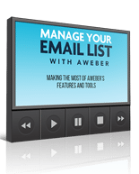 ManageEMailListAweber mrrg Manage Your E Mail List with Aweber