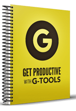 GetProductiveGTools mrrg Get Productive With G Tools