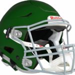 Riddell SpeedFlex Adult Football Helmet with Facemask forest green