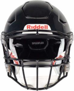 Riddell SpeedFlex Adult Football Helmet with Facemask matte navy