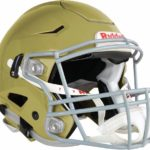Riddell SpeedFlex Adult Football Helmet with Facemask vegas gold