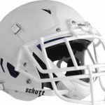 Schutt Vengeance Pro Adult Football Helmet with Facemask matte white