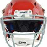 Schutt Vengeance Pro Adult Football Helmet with Facemask red