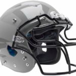 Schutt Sports Varsity Vengeance Pro Football Helmet(Faceguard Not Included) silver