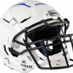 Schutt F7 VTD Adult Football Helmet with Facemask white