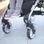 Graco Breaze Click Connect Lightweight Stroller wheels