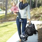 Graco Breaze Click Connect Lightweight Stroller with mother