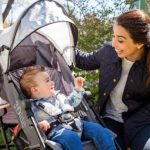 Summer 3Dlite® Convenience Lightweight Stroller with baby