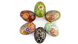 Ukrainian Pysanky and Russian Easter Eggs