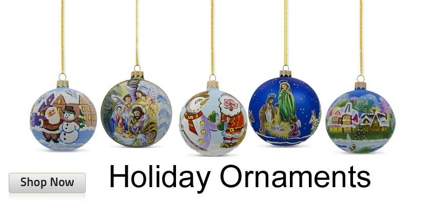 Glass and Wooden Christmas Ornaments