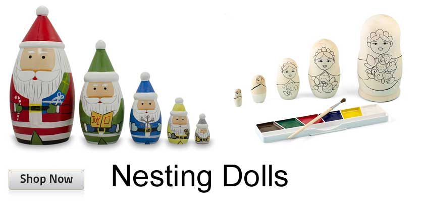 Russian Wooden Nesting Dolls Matryoshka
