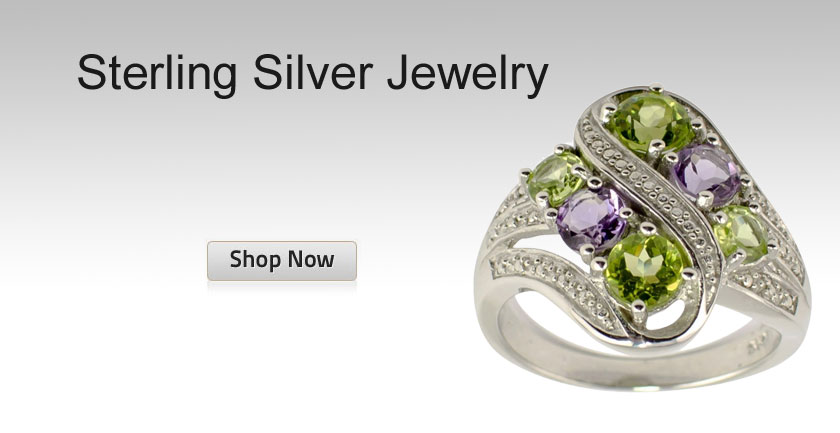 Designer Sterling Silver Jewelry