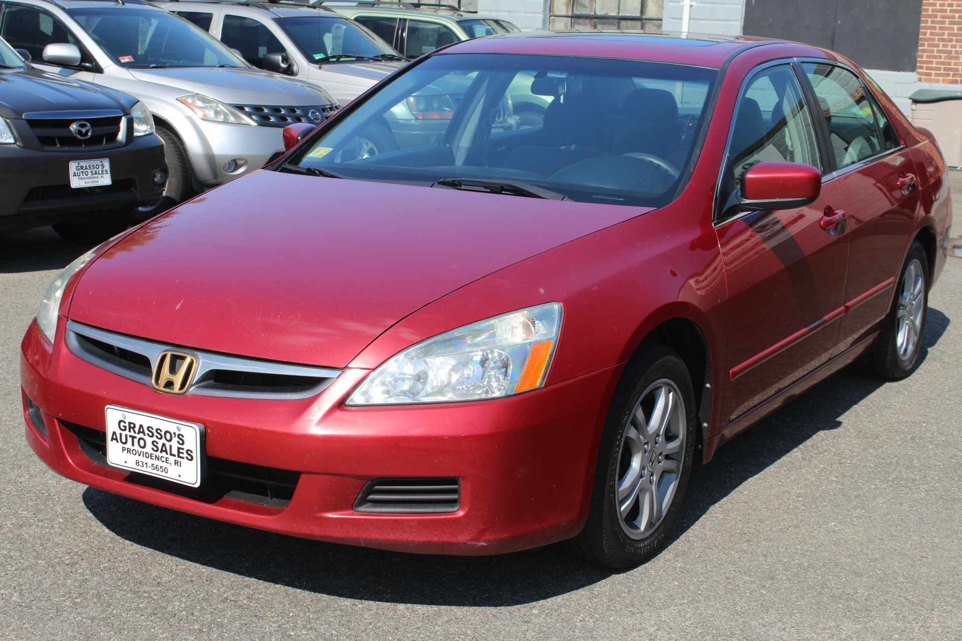 2007 Honda Accord Sdn 4dr I4 AT EX The 2007 Honda Accord makes a viable option for those in search