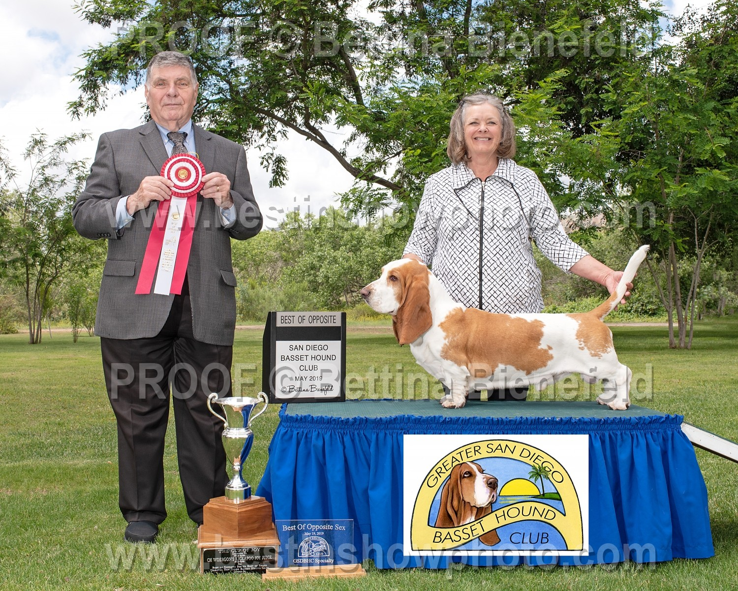 Greater San Diego Basset Hound Club ~ May 2019