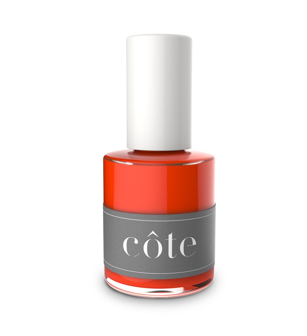 nail colors to make you look tan, neon orange