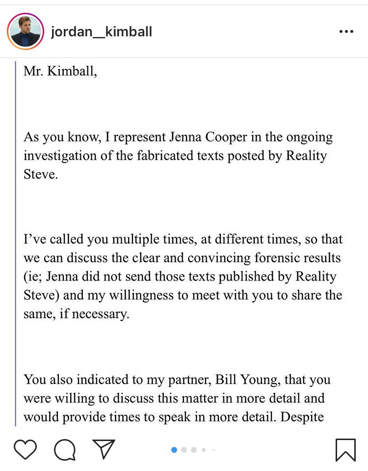 Jenna Cooper Legal Letter 1