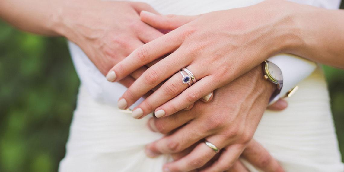 engagement ring diamond alternatives