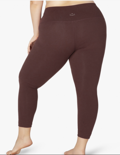 0744a0af7def8 Beyond Yoga Can't Hardly Lightweight Keyhole Tank in Red Rock-Tumbleweed /  Beyond Yoga Caught In The Midi High Waisted Legging in Red Rock