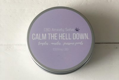Baked Beauty Co. CBD Anxiety Salve