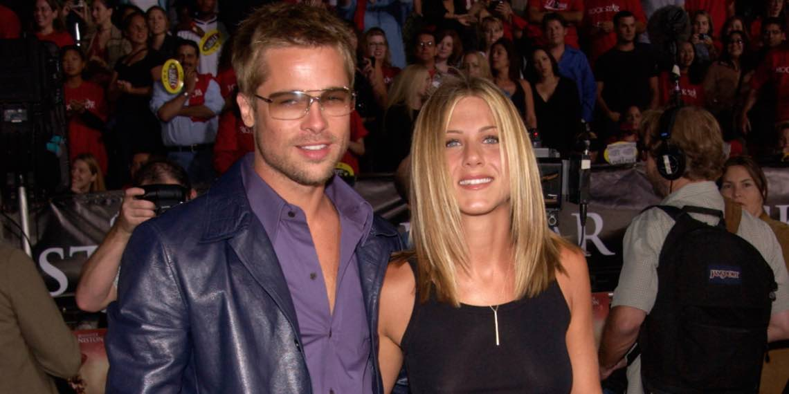 Brad Pitt and Jenifer Aniston