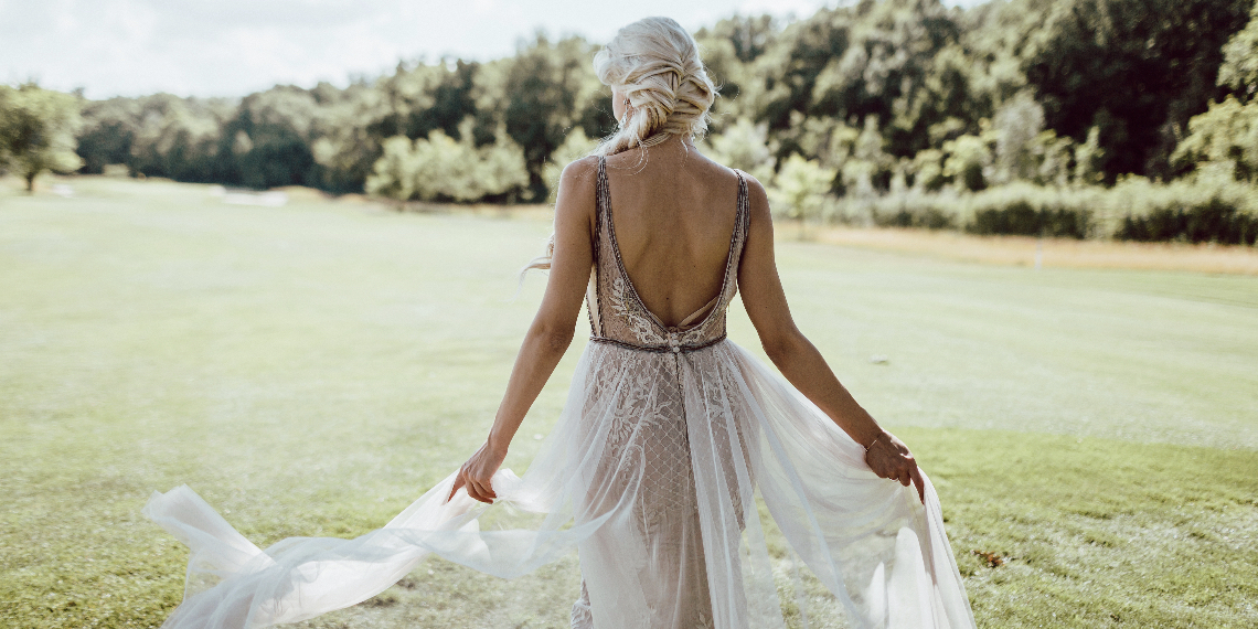 7 Backless Wedding Dresses Under $4,000 · Betches