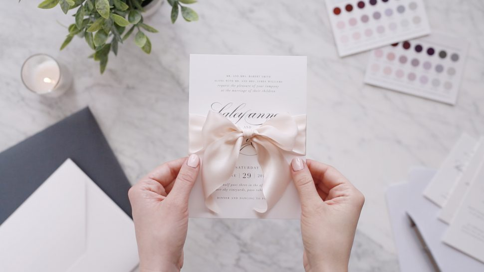 4 Questions You've Had About Wedding Invitations, Answered