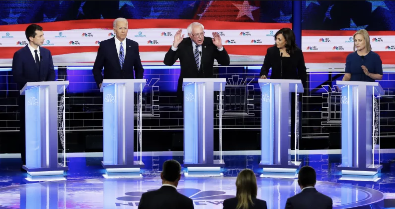 The Ultimate GIF Recap Of Each Democrat's Debate Peformance